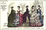 Fashions for the 1870's