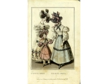 Evening and walking dresses, 1828