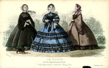 Walking costumes, 1860