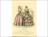 Day dresses, 1840s