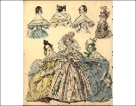 Morning and evening dresses, 1836