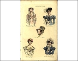 Various costumes, 1823