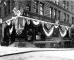 Office of the Chicago, Milwaukee and Puget Sound Ry., located at 2nd Ave. and Cherry St., in the...