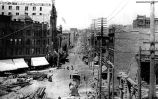 1st Ave., from James St. after the fire of June 6, 1889