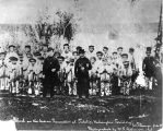 Catholic Indian School,Tulalip Mission, Tulalip Indian Reservation, showing Father E. Casimir...