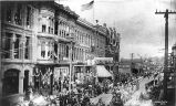 Fourth of July parade, 1888, Seattle.