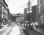 1st Ave. S., Pioneer Square district, Seattle, 1901