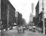 2nd Ave. looking north from Yesler Way, Seattle, Washington, 1901