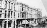 1st Ave., west side, looking north from Cherry St., Seattle, 1888