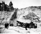 Regrading of Denny Hill, , Seattle, March 16, 1906.