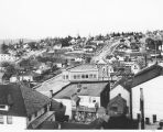 Panorama of Columbia City, Seattle.