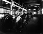 Interior of Puget Sound Traction, Light & Power Co. substation generating room, Union St....