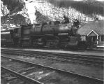 Great Northern Railroad 2-6-6-2 Mallet locomotive #1917 at Tye (Wellington) in 1913.
