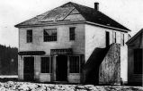 House built by Edward M. Sammis in the 1860s on the south side of Yesler Way, opposite the...