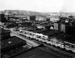 Denny Regrade area, looking northwest toward Lake Union, Seattle, April 19, 1930.