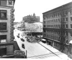 2nd Ave., Seattle, showing regrade, 1906.