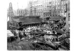 Construction of Seattle Electric Co.'s steam power plant between Columbia St. and Yesler Way, Post...