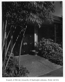 Dulien residence exterior showing entrance, Seattle, 1959