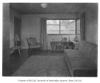 Holly Park Project interior showing living room, Seattle, 1944