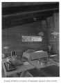Koppel residence interior showing dining and sitting areas, n.d.
