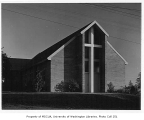 Church of the Brethren exterior, Seattle, 1949