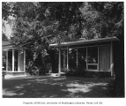 Richards residence exterior, Bellevue, 1958