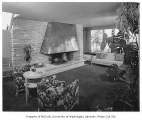 Panchot residence interior showing living room, Seattle, n.d.
