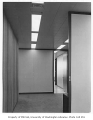 Norton Building interior showing hallway, Seattle, 1960