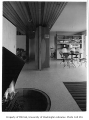 Giovanelli residence interior showing dining area, Mercer Island, 1959