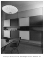 American Institute of Architects office showing shelving and cabinets, Seattle, 1954