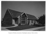 Church of the Brethren exterior from rear, Seattle, 1949
