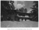 Day residence exterior from rear, Bellevue, 1944
