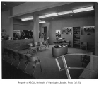Bellevue Shopping Square interior showing retail space, Bellevue, 1948