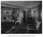 Corley-Brown residence interior showing living room, Seattle, n.d.