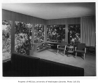 Hamack residence interior showing living room, Seattle, n.d.