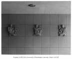 University of Washington Health Sciences Building interior showing architectural ornaments,...