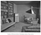 Jacobs residence interior showing sitting room, Seattle, 1953