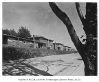 Holly Park Project exterior showing row of units, Seattle, 1944