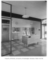 Chinook Junior High interior showing office, Seattle, 1958