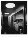 Crown Hill Clinic interior showing hallway, Seattle, 1948