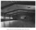 Holly Park Project interior showing auditorium, Seattle, 1944