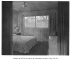 Holly Park Project interior showing bedroom, Seattle, 1944