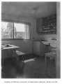 Holly Park Project interior showing kitchen, Seattle, 1944