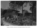 Jacobs residence exterior, Seattle, 1953