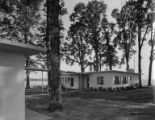 Hoffman residence  exterior and covered walkway, Hillsboro, Oregon, September 7, 1949