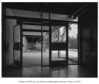 Chinook Junior High interior showing entrance, Seattle, 1958