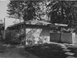 Goodrich house exterior showing side of house, Oregon, 1949