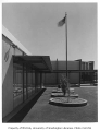 Crestview Elementary School exterior, Seattle, 1960