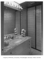 Weisfield residence interior showing bathroom, Seattle, 1961