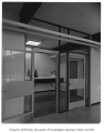 Chinook Junior High interior showing entrance to office, Seattle, 1958